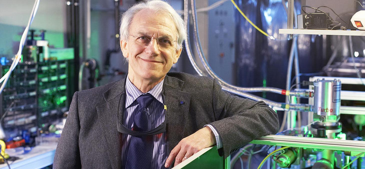 Gérard Mourou © Alexis Chezière / CNRS Photothèque